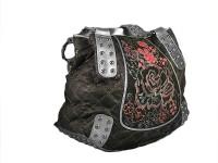 Женская сумка из кожи ската и змеи.  Купить в подарок.  Артикул: SSZ-003.